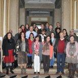 Fotos com estudantes